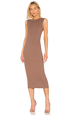 Scoop Back Muscle Midi Dress David Lerner $150 NEW ARRIVAL