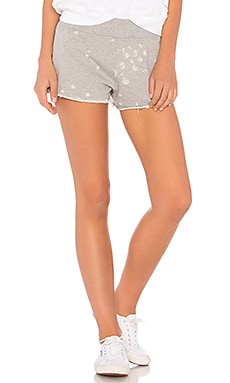 Distressed Lounge Short