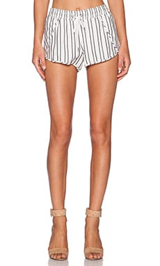 David Lerner Stripe Track Short in Cabo Stripe