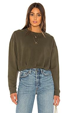 Gathered Volume Sleeve Sweatshirt David Lerner $121