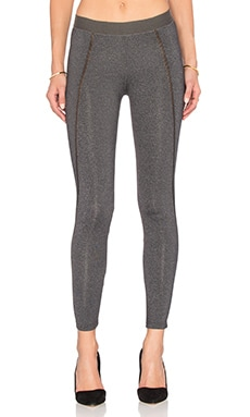 David Lerner Tate Legging in Charcoal Heather
