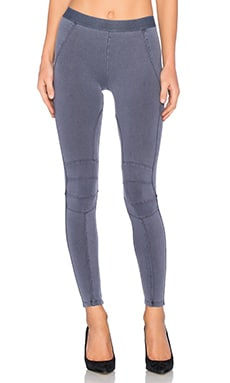 David Lerner Moto Legging in Indigo