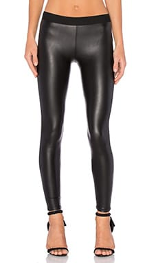 David Lerner Vegan Barlow Legging in Classic Black
