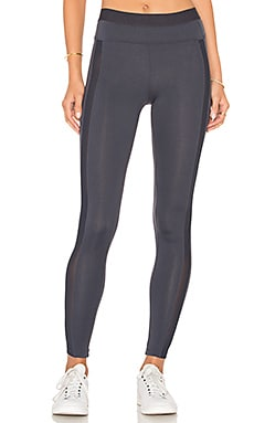 Mesh Legging in Granite