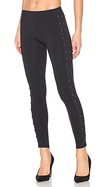 Lattice Legging in Classic Black