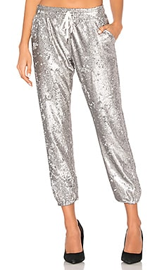 Sequin Lounge Jogger David Lerner $95