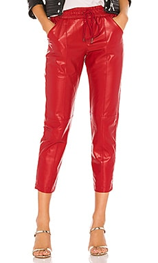 Vegan Leather Jogger David Lerner $185