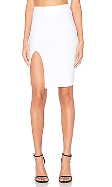 David Lerner Alexa Skirt in Soft White