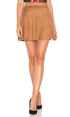 Waverly Suede Skirt