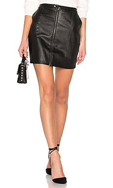 Zip Front Cargo Skirt David Lerner $76