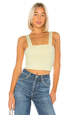 Wide Band Crop Top David Lerner $16 (Rebajas sin devolución)