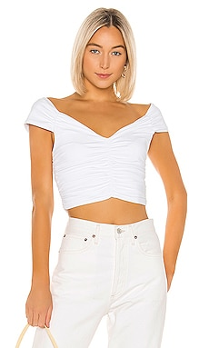 Ruched Crop Top David Lerner $121