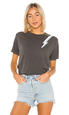 Lightning Bolt Boyfriend Tee David Lerner $66 BEST SELLER