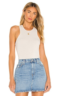 Penny Racer Front Bodysuit David Lerner $77 NEW