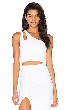 David Lerner Ava Bralette Top in Soft White
