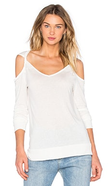Long Sleeve Cold Shoulder Tee