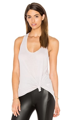 David Lerner Racer Back Tank in Oyster