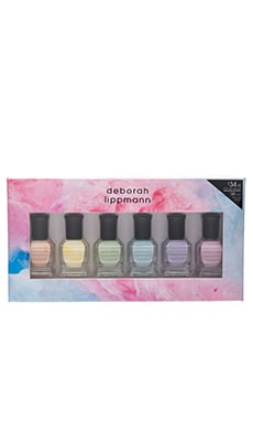 6 Piece Pastel Nail Lacquer Set en Sweets For My Sweet