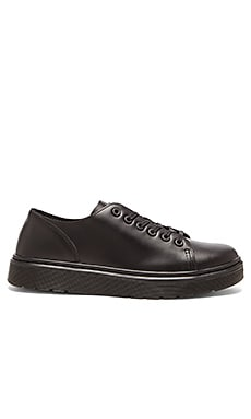 Dr. Martens Dante 6 Eye Raw Shoe in Black