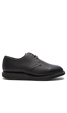 Torriano 3 Eye Shoe in Black