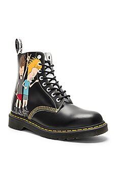 Pascal 8 Eye Beavis & Butthead Boots