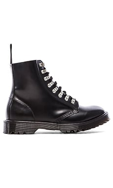 Dr. Martens Assange Lace Boot Hardwear in Black