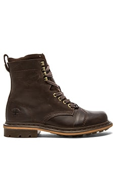 Dr. Martens Pier 9 Tie Boot in Brown