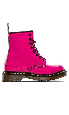 Dr. Martens 1460 W 8-Eye Boot in Hot Pink