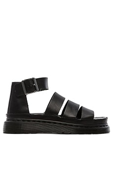 Dr. Martens Clarissa Chunky Strap Sandal in Black