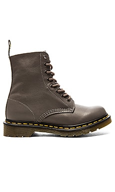 Dr. Martens Pascal 8-Eye Boot in Lead