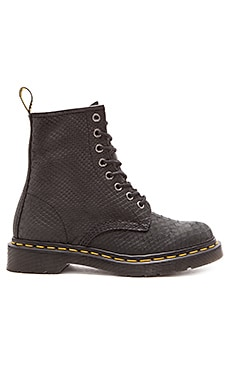Dr. Martens 1460 8-Eye Boot in Black Python