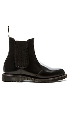 Flora Chelsea Boot in Black