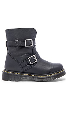 Dr. Martens Kristy Slouch Rigger Boot in Black