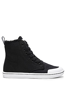 Hackney II 7 Eye Boot en Noir