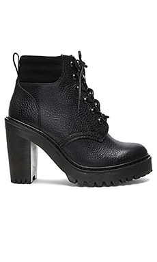 Persephone FL 6 Eye Boots in Black