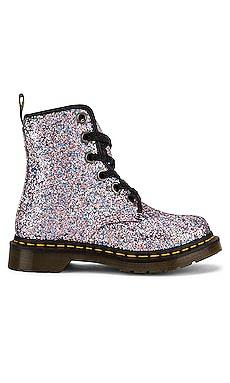 1460 Farrah Glitter Boot Dr. Martens $120