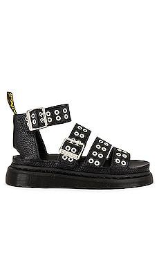 Clarissa Hardware Sandal Dr. Martens $140