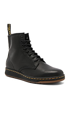 Newton 8 Eye Leather Boots Dr. Martens $125