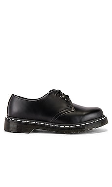 1461 White Stitch Shoe Dr. Martens $120