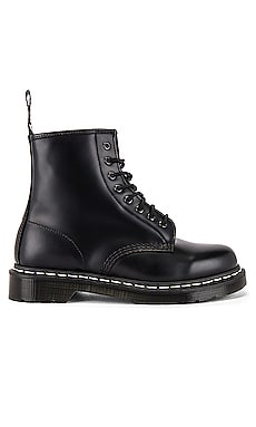 1460 White Stitch Boot Dr. Martens $150