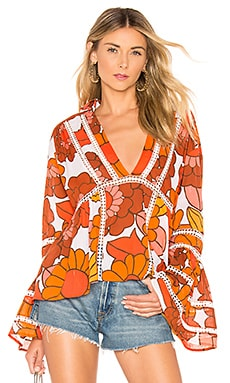Enid Blouse Dodo Bar Or $60 (FINAL SALE)