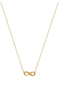 Dogeared Best Mom Infinite Love Necklace in Gold Dipped