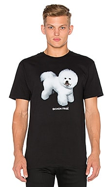 Dog Limited Bichon Frise Tee in Black