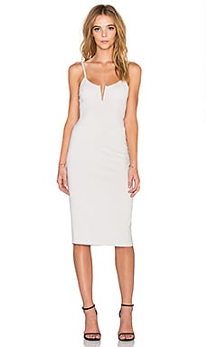 dolan Bodycon Slip Dress in Pearl