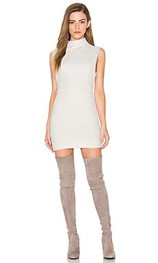 Mariela Sweater Dress en Ivory