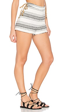 Holly Short in Black & White Stripe