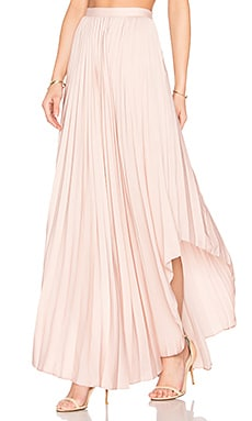 Camryn Maxi Skirt in Dusty Rose