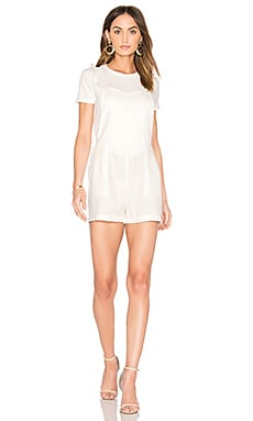 Estella Romper in White