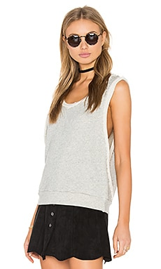 Dolce Vita Aaron Top in Heather Grey