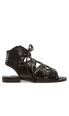 Deklon Sandal in Black